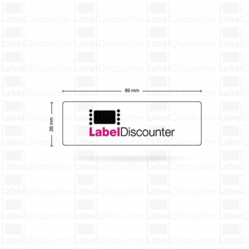DYMO labelwriteradressetiketten bianco S0722370 89/X 28/mm