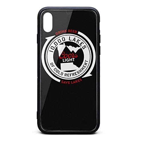 Art-Logo-coors-Light- Phone Case for iPhone Xs Max TPU Full Body Protection Cool Anti-Scratch Fashionable Glossy Anti Slip Thin Shockproof Soft Case (Case Light Coors)