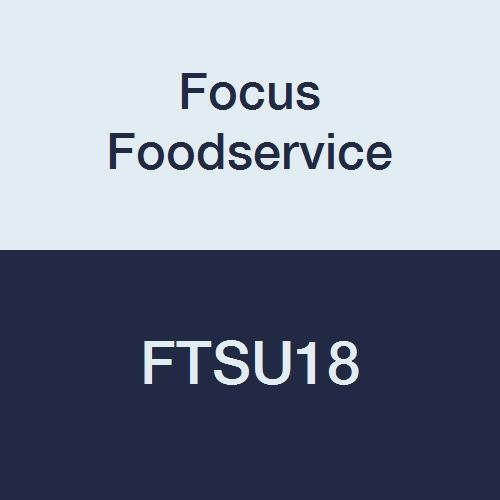 Focus Foodservice FTSU18 Caster Channels for 18'' Mobile Units, Stainless Steel