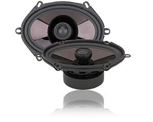 Soundstream SST5.7 5x7-Inch 2-Way 260-Watt Speakers (Black)