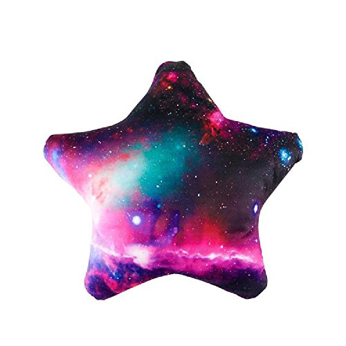 17'' Galaxy Star Pillow by Bargain World