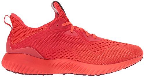 adidas Männer Alphabounce Em M Laufschuh Blaze Orange / Kern Rot / Collegiate Burgundy