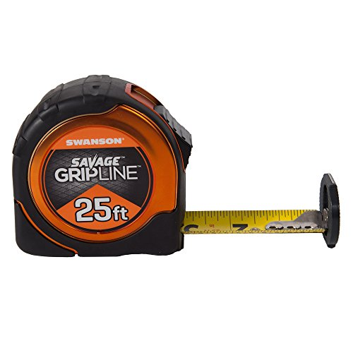 Swanson Tool SVGL25M1 25-Feet Magnetic Savage Grip Line Tape Measure by Swanson Tool (Image #1)