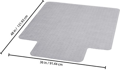 Clear Carpet Chair Mats Pvc Plastic For Wood Floors 36 Quot X