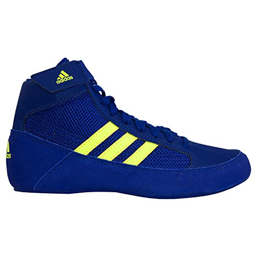 adidas HVC 2 Royal Solar Yellow Wrestling Shoes Royal 5 by adidas