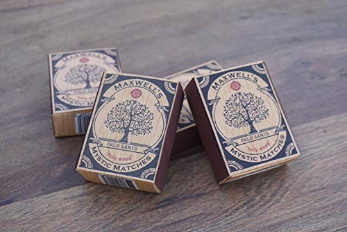 3 Pack Palo Santo Incense Matches by Maxwell's Mystic Matches (Image #2)