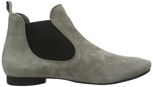 Think Guad, Botas Chelsea para Mujer Gris (schlamm 20)