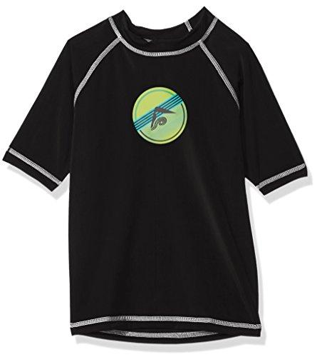 (Kanu Surf Toddler Boys' Paradise UPF 50+ Sun Protective Rashguard, Echelon Black,)