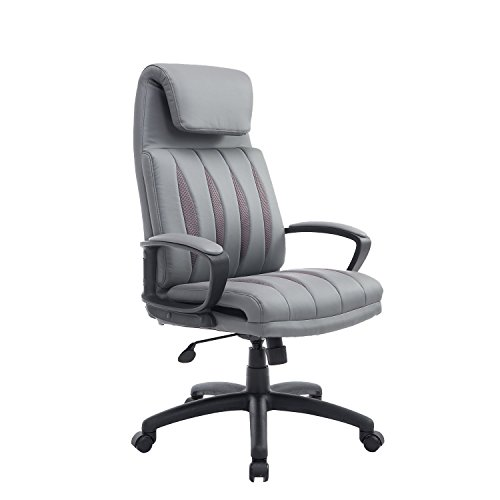 HomCom Leather Executive Office Chair product image