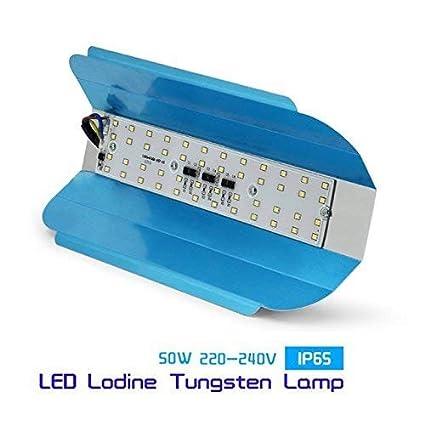 Truvic Led Flood Light 50W Ip65 Waterproof 220V 240V Iodine Tungsten Lamp,White
