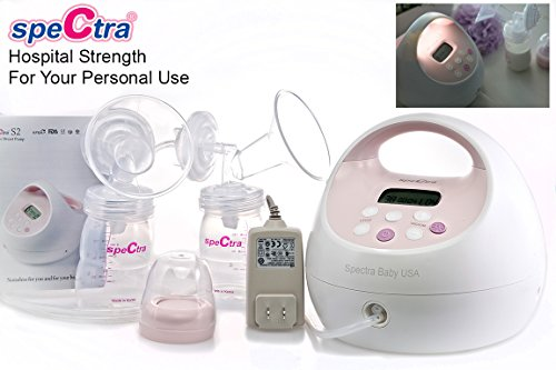 SpeCtra ORIGINAL S2 Hospital Grade Double Electric Breast Pump Made by SpeCtra Baby USA