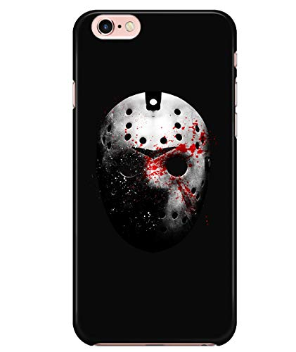iPhone 6/6s Case, Jason Voorhees Mask Case for Apple iPhone 6/6s, Friday The 13th iPhone Case (iPhone 6/6s Case - Black) -