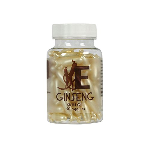 Ginseng Skin Oil Capsules by EasyComforts,90 capsules