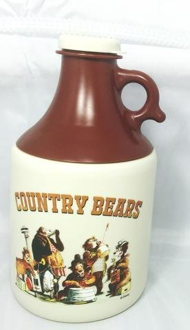 Disney Country Bears Moonshine Jug with Straw Country Jug