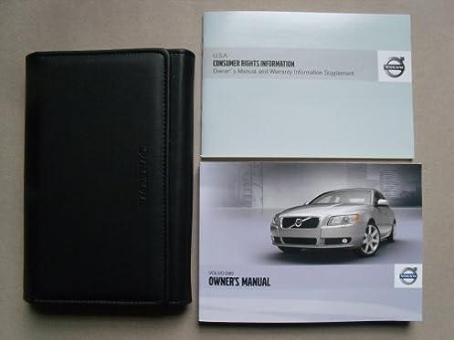 2012 volvo s80 owners manual kit excellent condition volvo rh amazon com 2018 Volvo S80 2018 Volvo S80