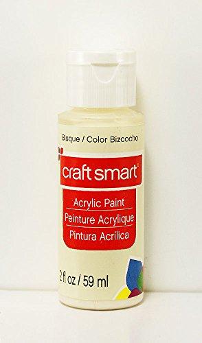 Craft Smart Acrylic Paint 2 Fl.oz. 1 Bottle Bisque