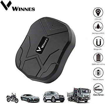 Localizador GPS para vehículos, Winnes Tiempo Real Seguimiento GPS ...