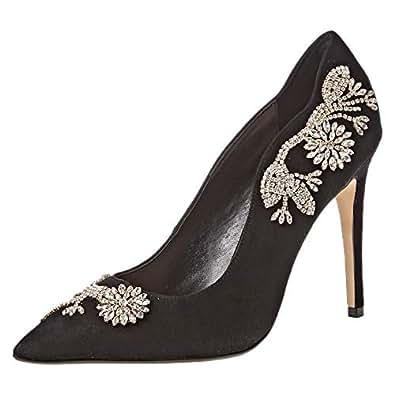 Dune London BonUS Di Occasion Shoe For Women, Black, 39 EU