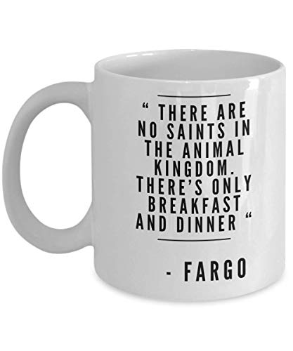 Fargo Movie Mug Christmas Adults For Cup Gift For Colleague Coworker Best Friend Movie Lover Christmas Birthday Appreciation Present Exchange Idea ()
