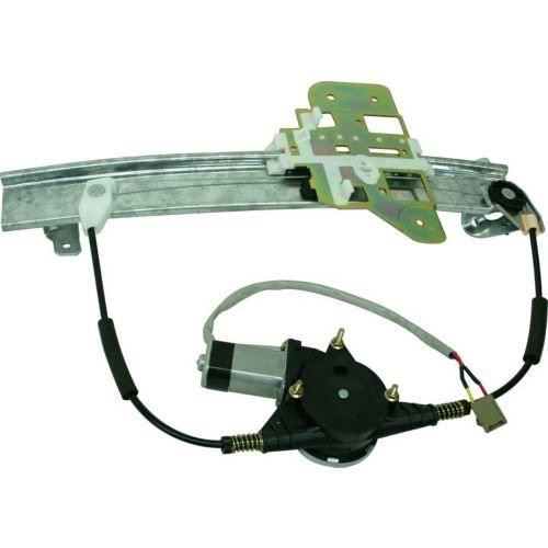 (Go-Parts » OE Replacement for 1995-1997 Lincoln Town Car Power Window Motor and Regulator Assembly - Rear Right (Passenger) Side F5VY 5427008 A FO1551107 for Lincoln Town Car)