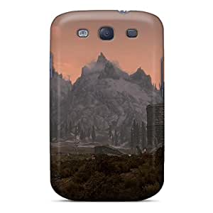 Series Skin Cases Covers For Galaxy S3(skyrim A Day Ends) Black Friday