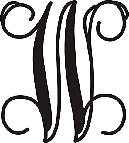 Amazon Ajd Designs Single Letter W Monogram 20 Inches Wedding