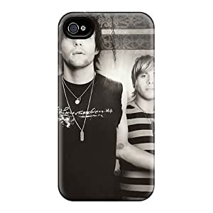 Protective Hard Phone Covers For Iphone 4/4s (ZGf1695PVJe) Allow Personal Design Beautiful Boys Like Girls Band Series