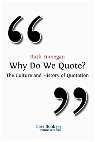 why do we quote the culture and history of quotation download pdf