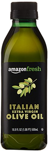 Extra Virgin Italian Olive Oil - AmazonFresh Italian Extra Virgin Olive Oil, 16.9 fl oz (500mL)