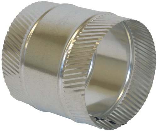 Speedi-Products FDSC-04 4-Inch Diameter Flex and Sheet Metal Duct Splice Connector Collar ()