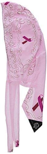 ZAN HEADGEAR/BOBSTER FLYDANNA Breast Cancer Pink Paisley ZBC05