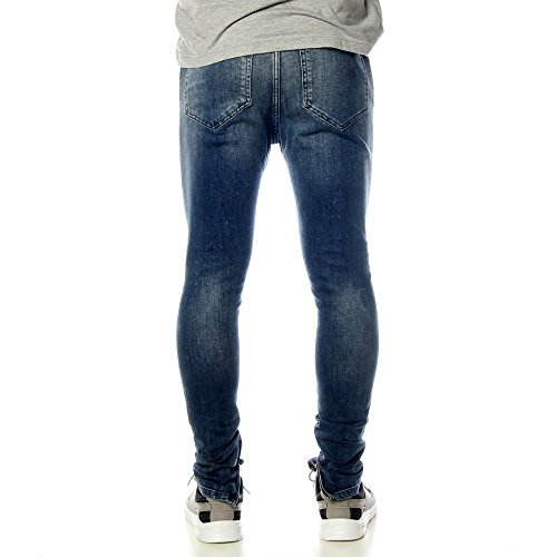DARK ACID SIKSILK FIGHT BLUE HAREEM JEANS wpI6WAIq