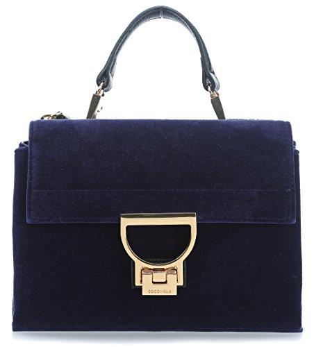 Coccinelle Arlettis Velvet Borsa a spalla blu scuro
