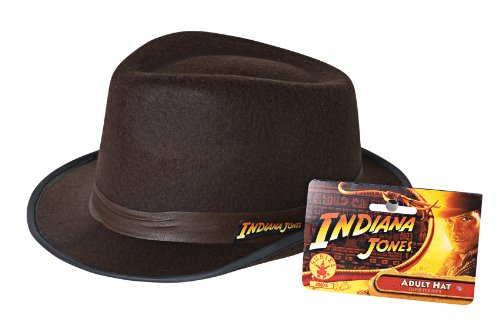 Rubie's Costume Co Indiana Jones Adult Hat Costume, One size