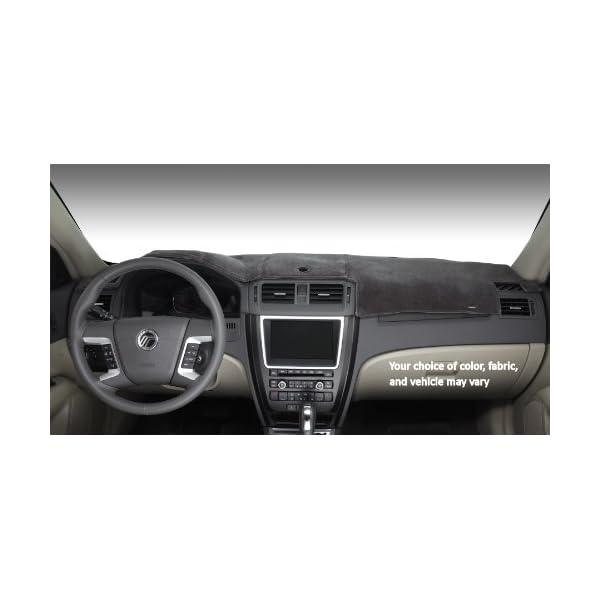 Plush Velour, Black DashMat VelourMat Dashboard Cover Chevrolet and GMC