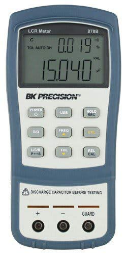 B&K Precision 879B Dual Display Handheld Deluxe Universal LCR Meter with Backlit Display ()