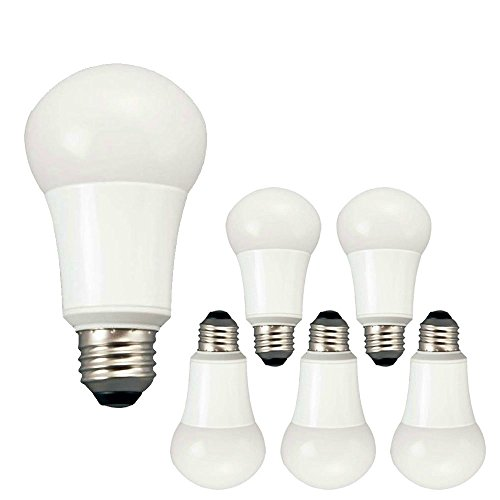 tcp 9w led light bulbs 60 watt equivalent a19 e26 medium screw base no. Black Bedroom Furniture Sets. Home Design Ideas