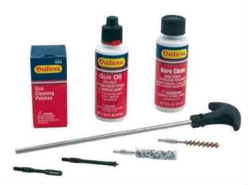 Outers 22 Caliber Aluminum Pistol Rod Cleaning Kit (Hard Case)