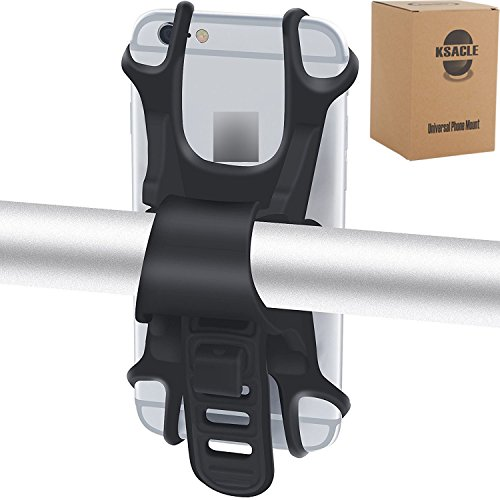 Bike Phone Mount, Ksacle Universal Bicycle Cell Phone Holder