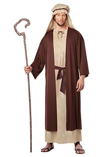 Costume For Men Joseph (California Costumes Men's Saint Joseph Adult, Tan/Brown,)