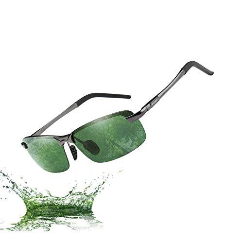 MOORAY Polarized Sunglasses for Men UV Protection Mens Sport Sunglasses for Driving - Racing Mens Sunglasses