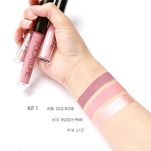 Matte Lipsticks Set MEIQING Women Waterproof Long Lasting Li