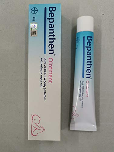 Bepanthen Nappy Rash Ointment 30g FOC 3.5g- protects and gently skin damaged by nappy (diaper) rash.