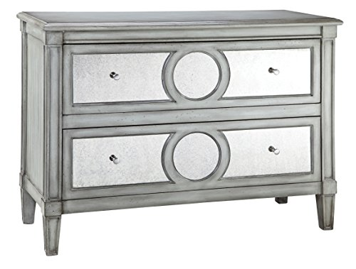 Hand Painted Six Drawer Chest - Stein World Furniture Marlowe Chest, Grey