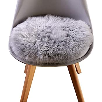 Amazon Com Noahas Faux Fur Sheepskin Silky Seat Cushion