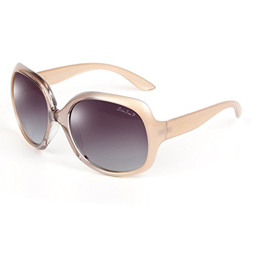 88dddef2008 LianSan Designer Sunglasses Oversized Polarized for Women with Case 3113 2  pairs PRDCL  Amazon.ca  Clothing   Accessories