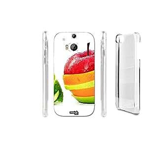 FUNDA CARCASA FRUTTA TAGLIO PARA HTC ONE M8