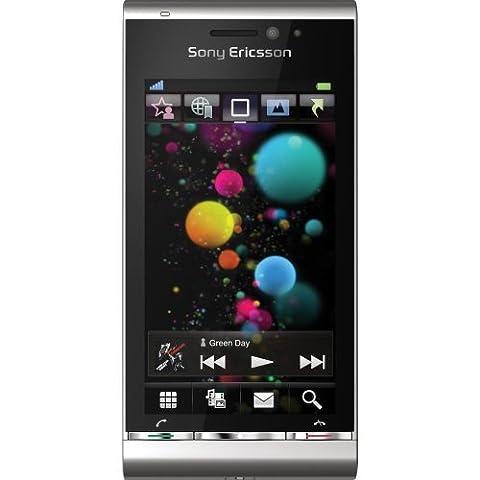 Sony Ericsson Satio (U1i) Quadband 3G HSDPA GPS Unlocked Phone in SILVER W/8GB Memory Card - International (Sony Ericsson Xenon)