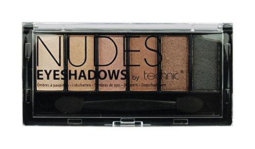 Technic Eye Shadows, Nudes Badgequo 23507