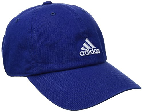 (adidas Women's Saturday Relaxed Cap, Mystery Ink Blue/Prism Blue, One)